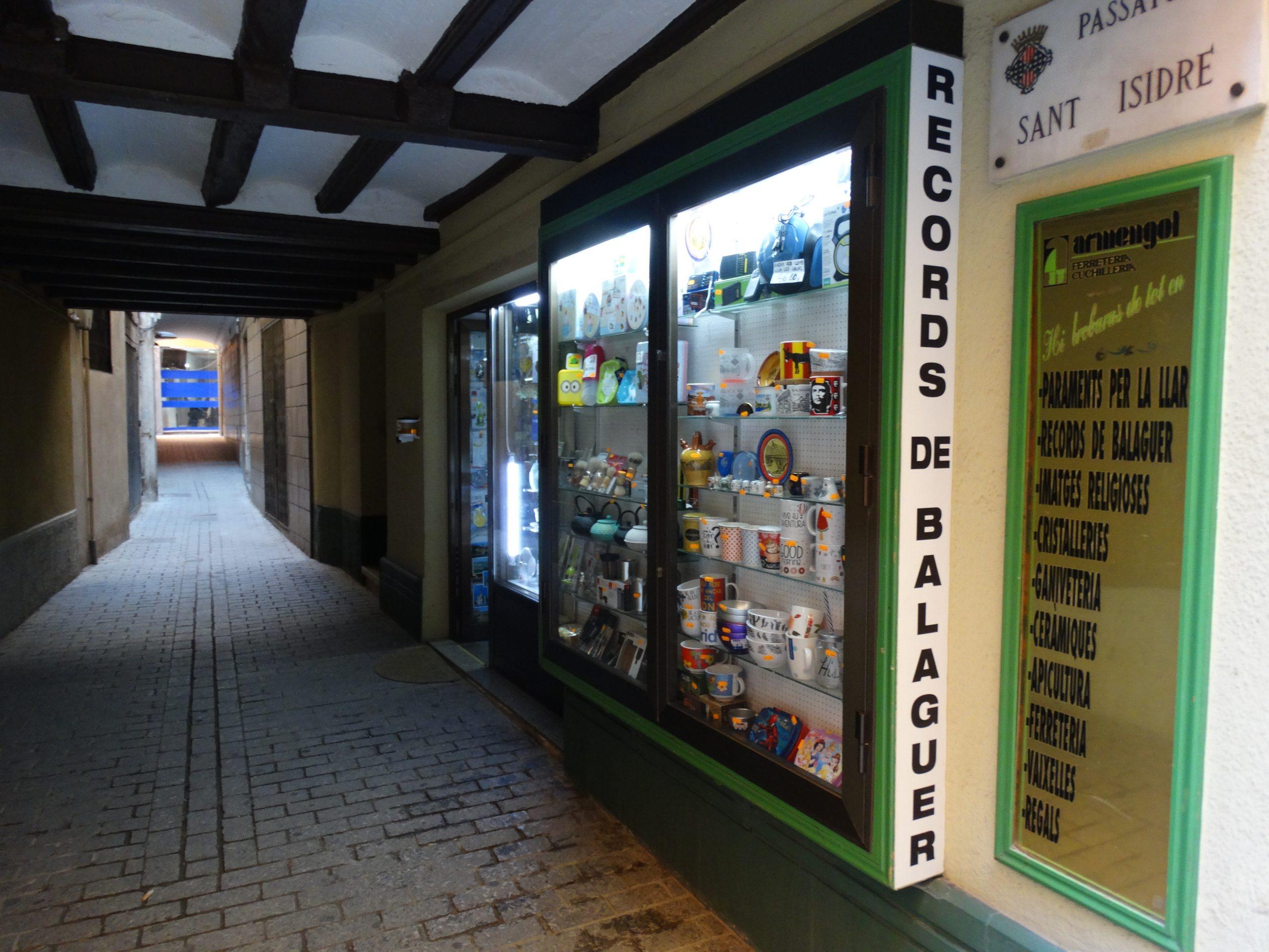 Nuestra tienda de Balaguer