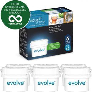 pack 6 filtros aqua optima