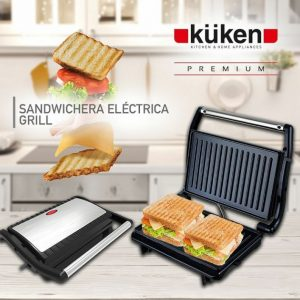 sandwichera electrica grill