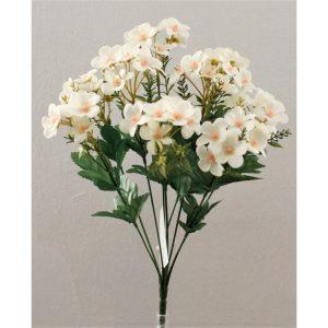 flor mini blanco