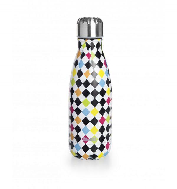 botella termo inox arlequín