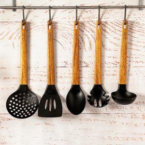 utensilios colección ébano