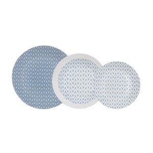 vajilla azulea opal