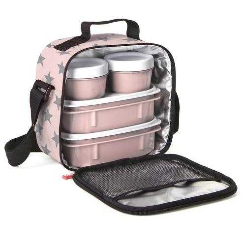 porta alimentos rosa tatay