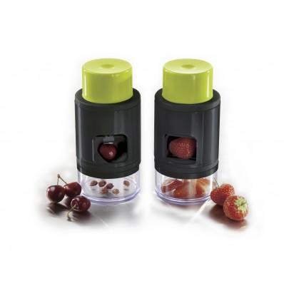 deshuesador de cerezas y laminador de fresas