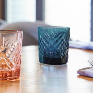 vaso azul broadway
